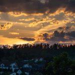 Abend, Deutschland, Europa, Europe, Germany, Gladenbach, Hessen, Hessia, Himmel, Landschaft, Location, Mittelhessen, Ort, Sky, Sonnenuntergang, Sunset