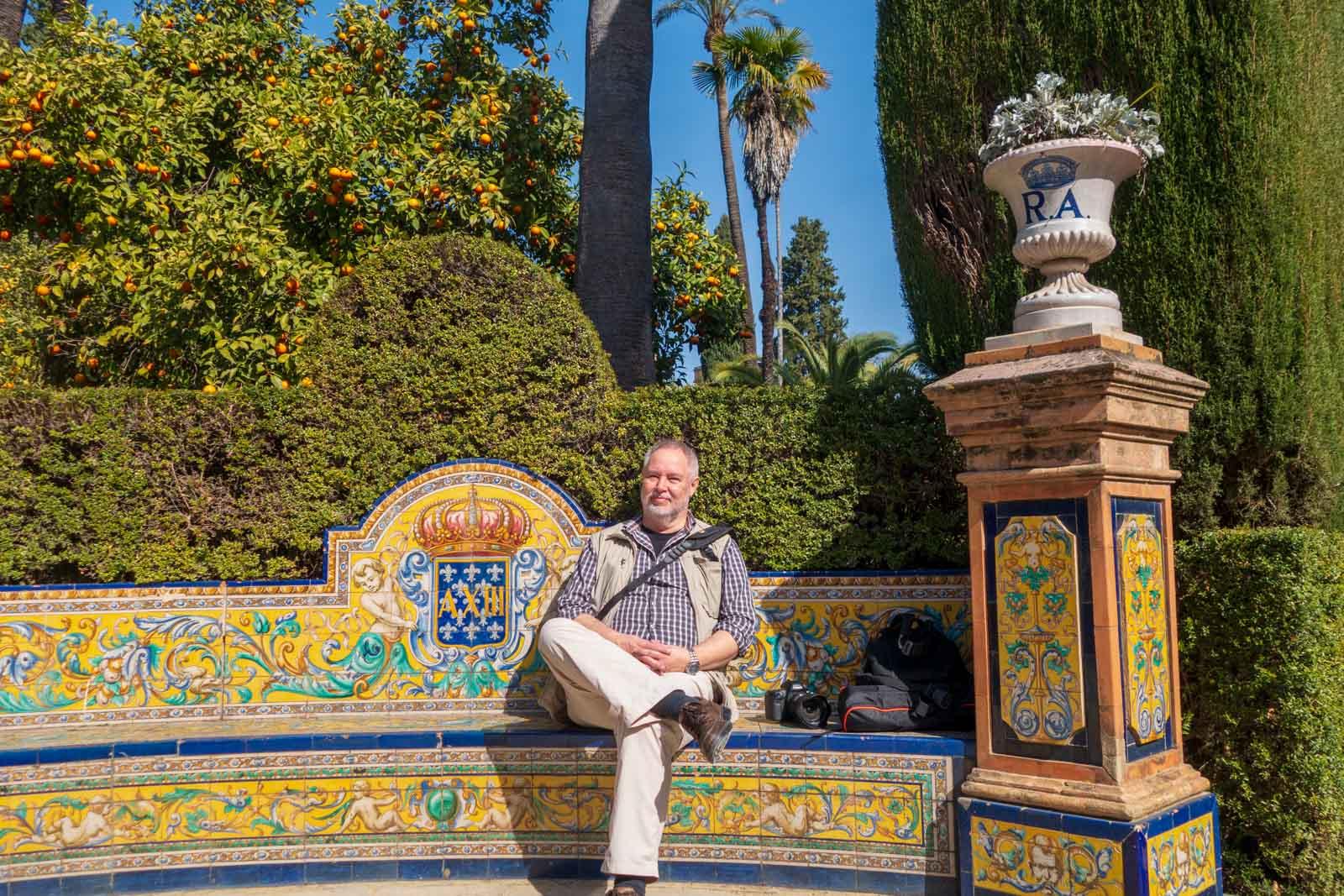Alcazar, Alcazar Real de Sevilla, Andalusia, Andalusien, Sevilla, Seville, Spain, Spanien