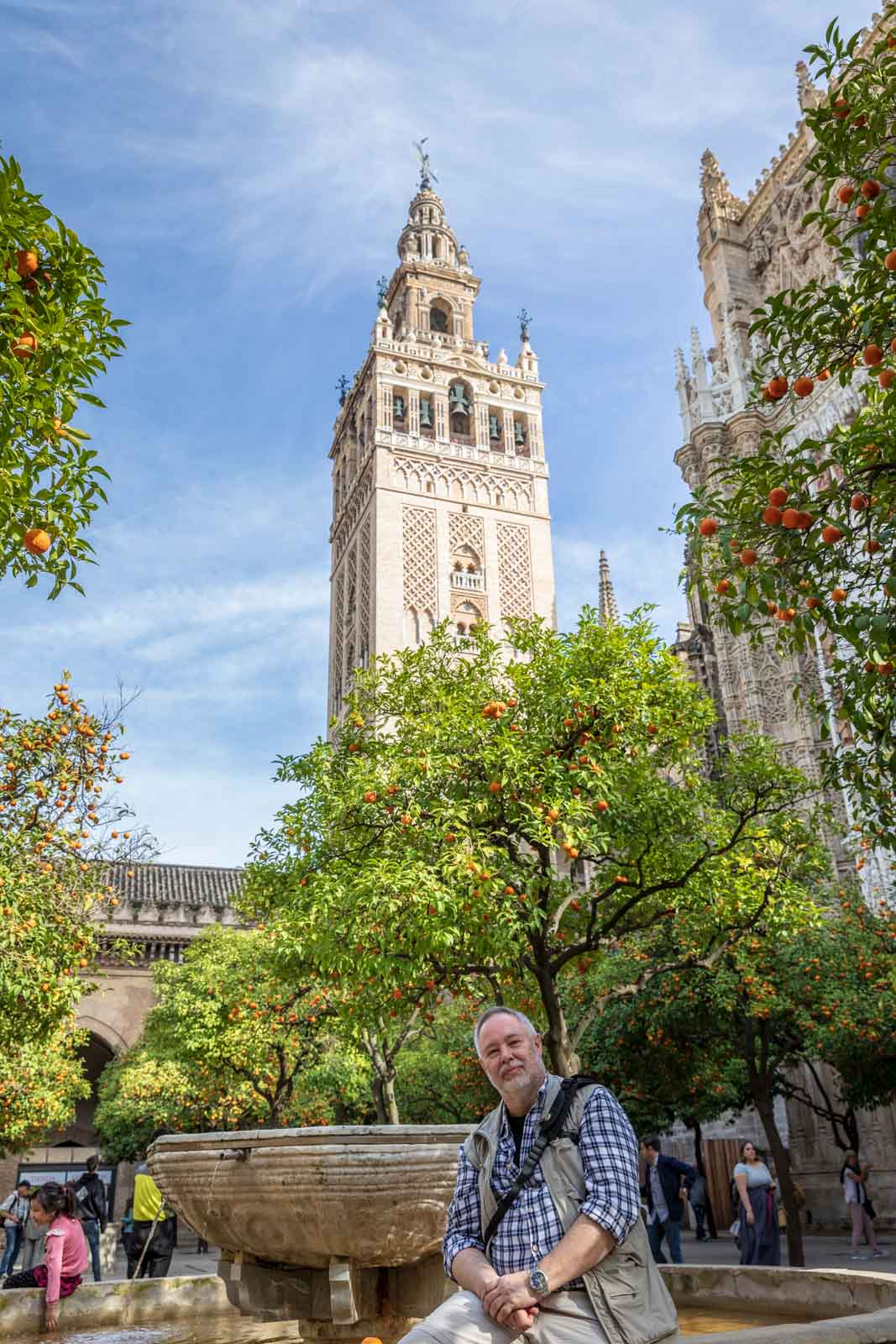 Andalusia, Andalusien, Cathedral, Church, Giralda, Kathedrale, Kirche, Sevilla, Seville, Spain, Spanien, Tower, Turm