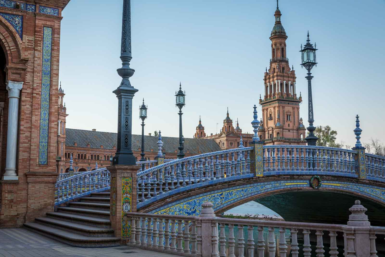 Andalusia, Andalusien, Plaza de Espana, Sevilla, Seville, Spain, Spanien