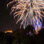 Abend, Castle, Deutschland, Europa, Europe, Evening, Feuerwerk, Fireworks, Germany, Hessen, Hessia, Location, Marburg, Ort, Schloss, Sommer, Summer